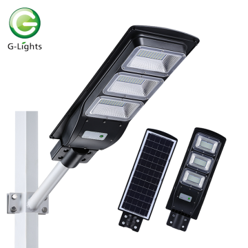 High power ip65 60w all-in-one solar street light