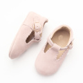Lovely Pink Mary Jane Baby Shoes