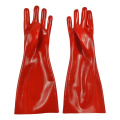 Gauntlets PVC Standard Weight 16 inch Red