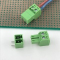 3.5mm pitch PCB 2 way contact terminal block