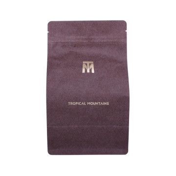 High quality custom style flat bottom pouch for coffee