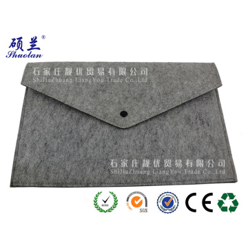 Good quality customized color felt laptop bag