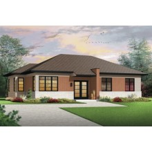 pre built cottage homes morden house plan
