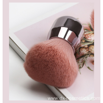 Round Loose Synthetic Hair Powder Brush
