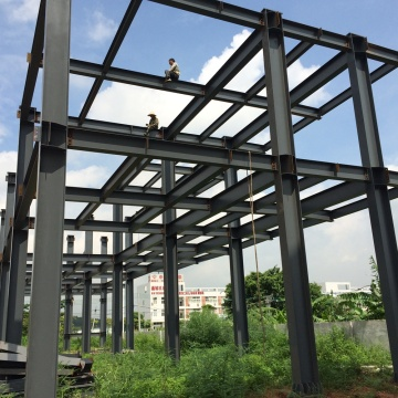 2 story steel building Steel Frame warehouse