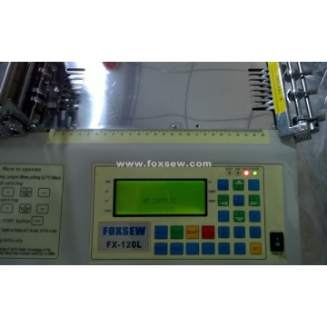 Automatic High Strength Webbing Cutting Machine