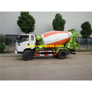 DFAC 5000L Used Cement Mixer Trucks
