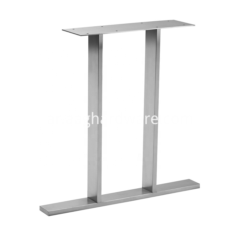 Stainless Steel Dinning Table Legs For Wood 5