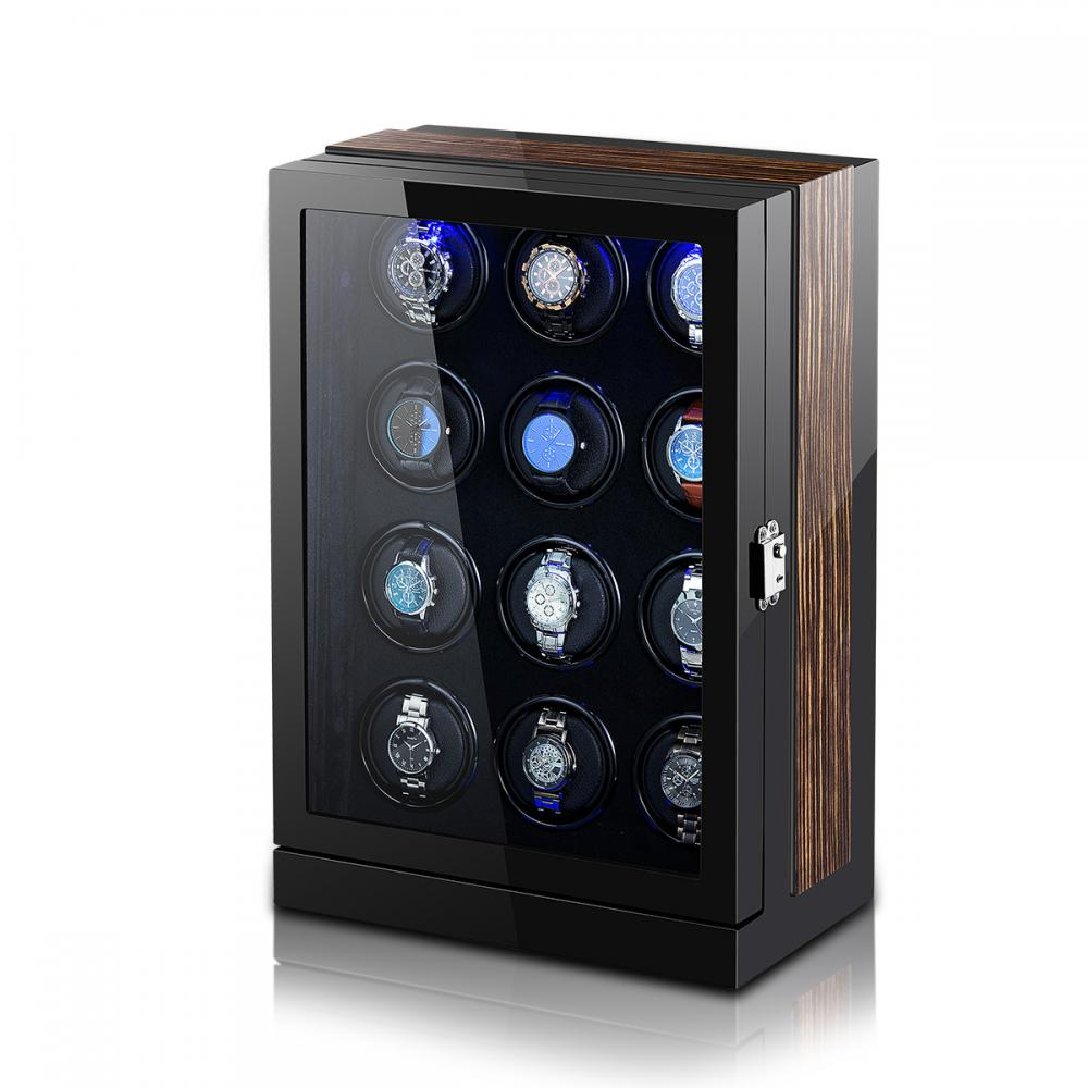Ww 8205 Large Watch Winder With Led Light