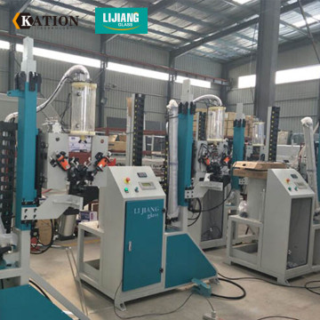 Automatic glass drying sieve filling machine