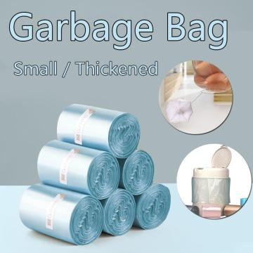 4 Colors Household 240pc Disposable Rubbish Bin Liner Plastic Garbage Bag Roll Cover Home Waste Trash Storage Container Bags 3