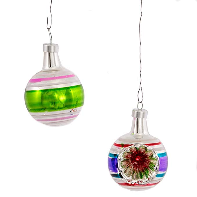 Reflector Christmas Ornaments