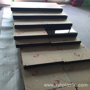 cut to size clear pmma  plastic plate