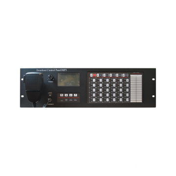 Broadcast Control Panel for Emergency Communication System
