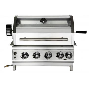 4 Burner Stainless Steel Built-In Gas Grill