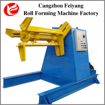 cold steel door frame coil hydraulic decoiler