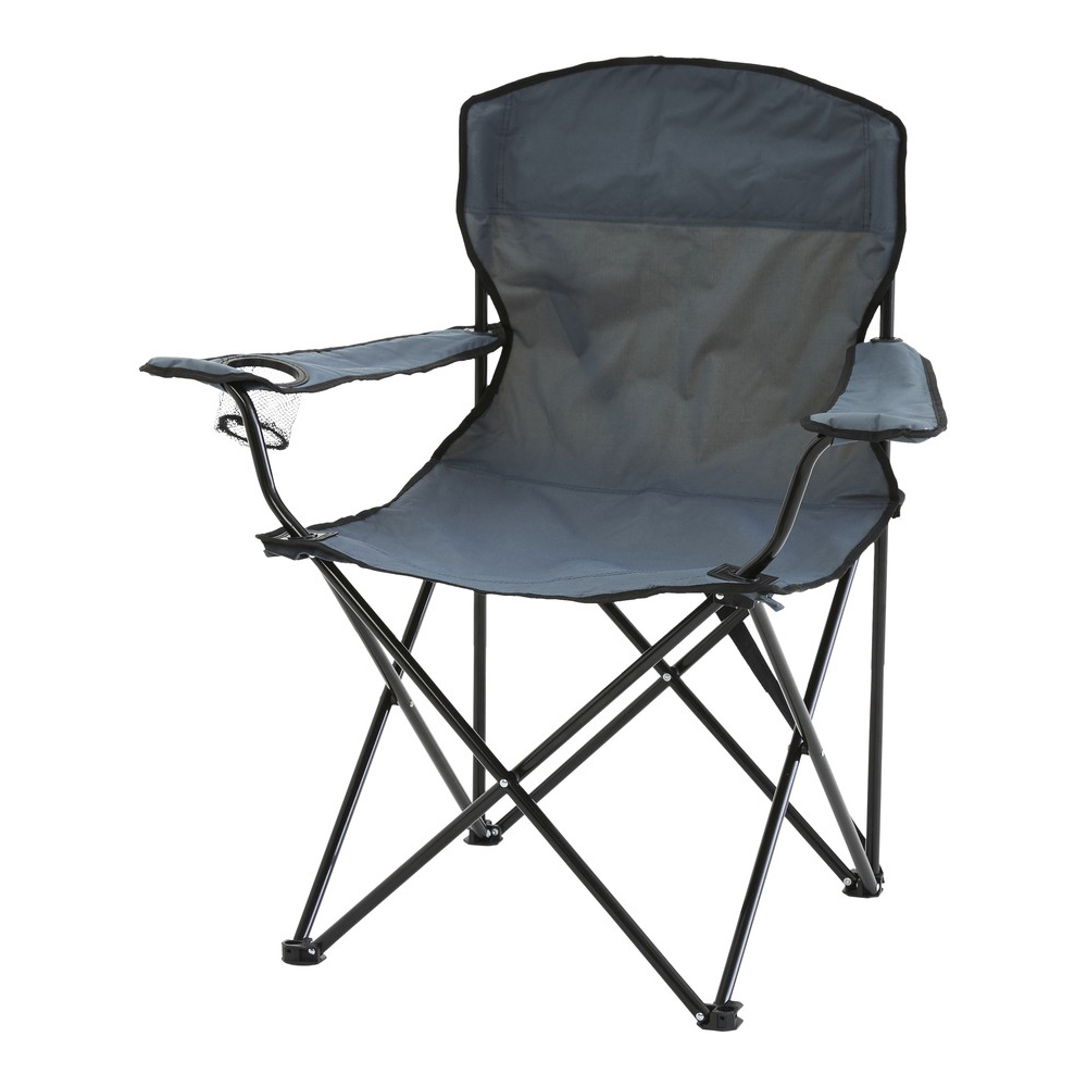 Gray Camp Chair