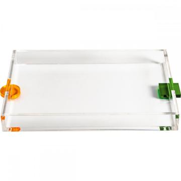 Decorative Acrylic Tray with Handle