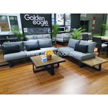 Outdoor furniture set powder coating painting