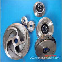 Precision casting guide wheel of carbon steel