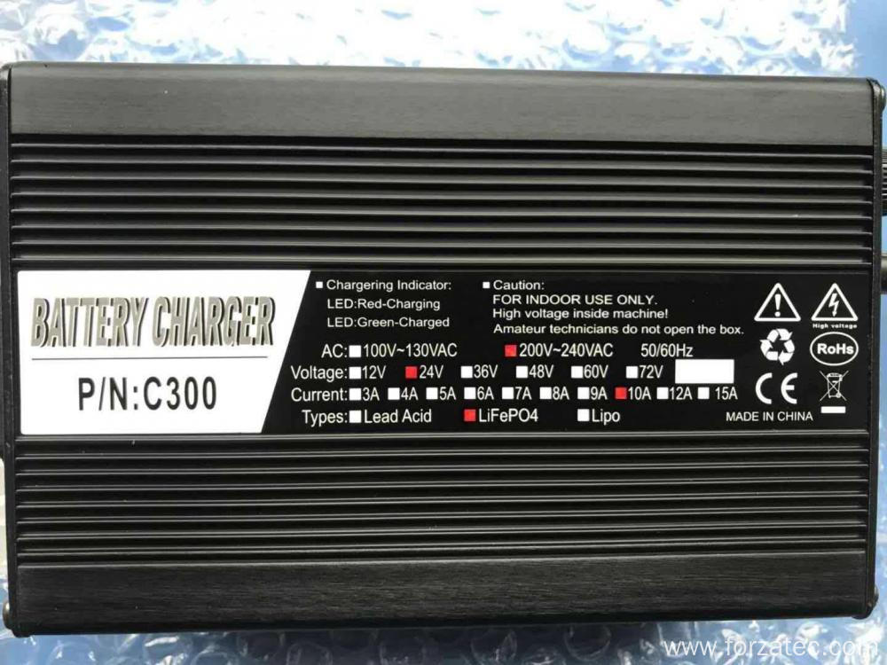 24V LiFePO4 Battery Charger