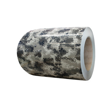 Army pattern coated aluminum