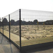 triangle bending wire mesh fence pvc farm fencing