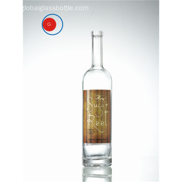Standard Shape Gin Glass Bottle