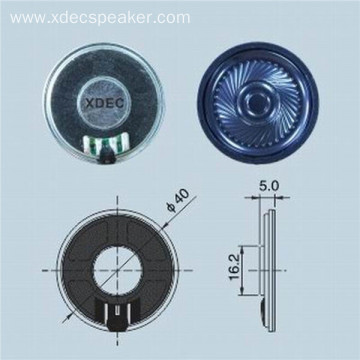 KSV voice coil 40mm 8ohm 0.5w mylar speaker