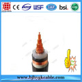 6.35/11KV Electric UV Stabilized Middle Voltage Electric Cable XLPE / SWA / PE