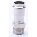 V Profile Male Threaded Coupling Press Fitting