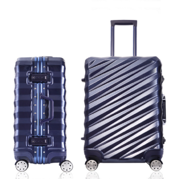 Business travel suitcase sky travel aluminum frame luggage