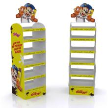 Double Side Six Tiered Metal Display Stand