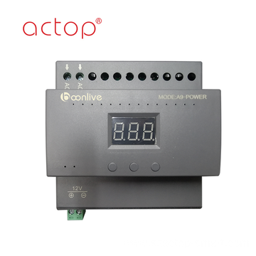 Smart hotel system solutions Room control unit model