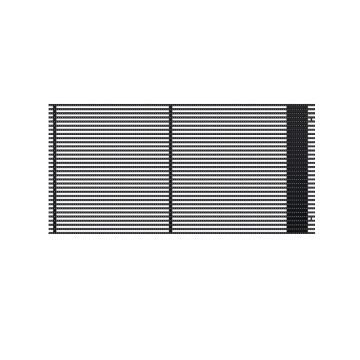 Waterproof Low Wind Resistance Led Grille Screen