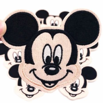 Cartoon Mouse Iron On Embroidery Patches Jackets