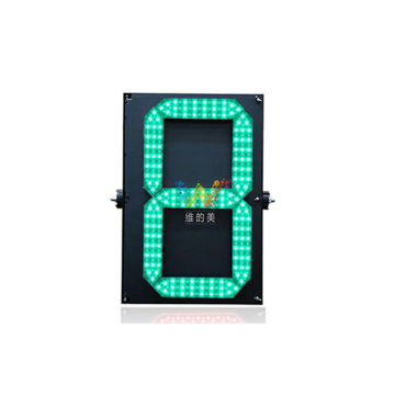 Single 8 large 400mm led countdown timer