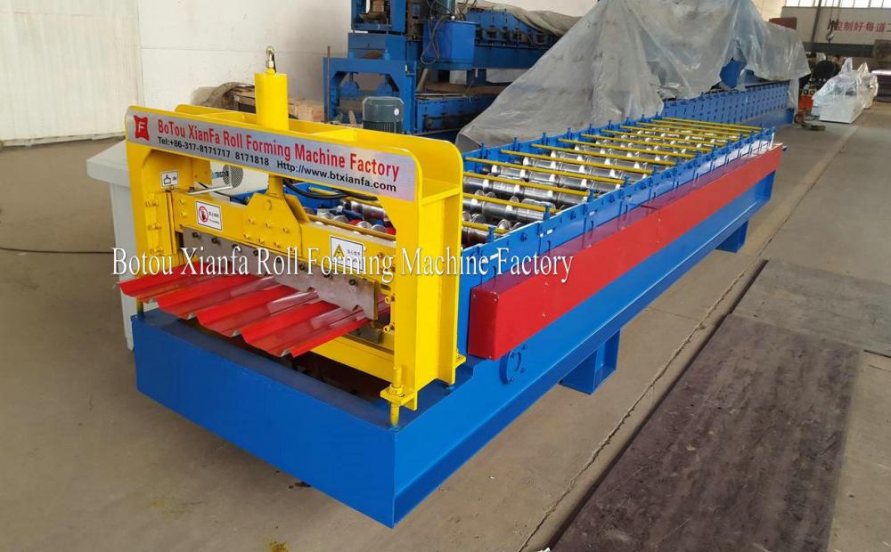 Color Metal Roof Sheet Cold IBR Forming Machine