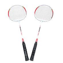2Pcs Training Badminton Racket Racquet with Carry Bag Sport Equipment Durable Lightweight Aluminium Alloy Sport Equipment
