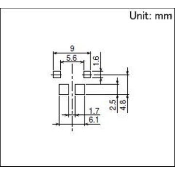 Surface Mount Switch without Positioning Pin