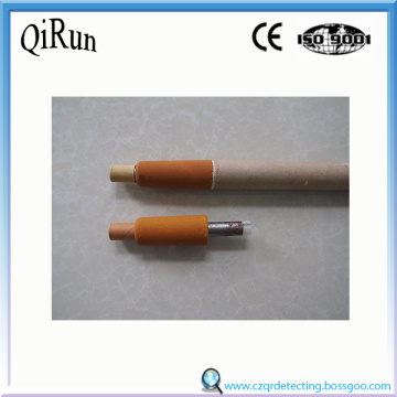 Oxygen and Temperature Sensor Tip for Steelmaking