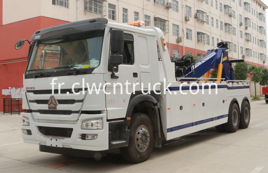 howo heavy duty towing truck
