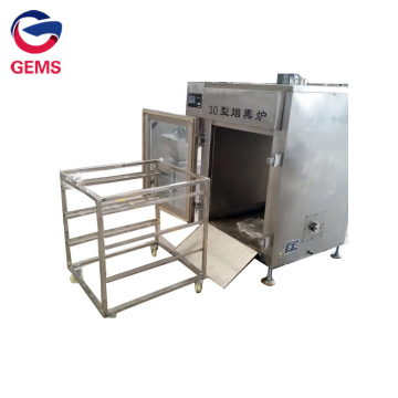 Full-automatic Chicken Smoke Furnace Machine