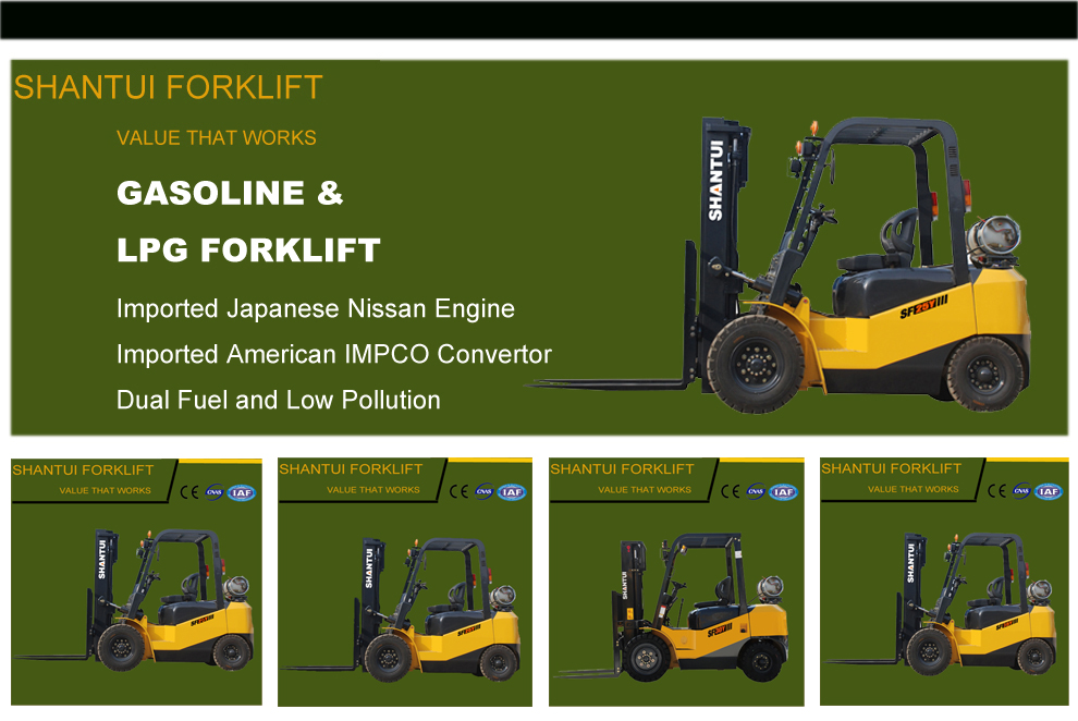 Gasoline and LPG Forklift