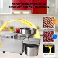 Heat And Cold Home Oil Press Machine Peanut Almond Soybean Sesame Oil Press Machine Stainless Steel Oil Extractor Machine