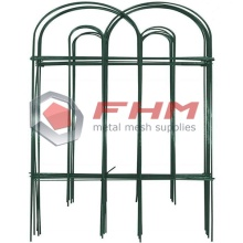 Green Garden Border Round Folding Fence
