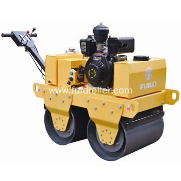 Walk Behind Vibrating Mini Road Roller For Sale