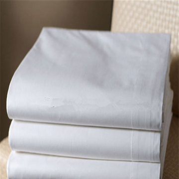 250T-400T CVC Sateen Bleached Fabric for Hotel