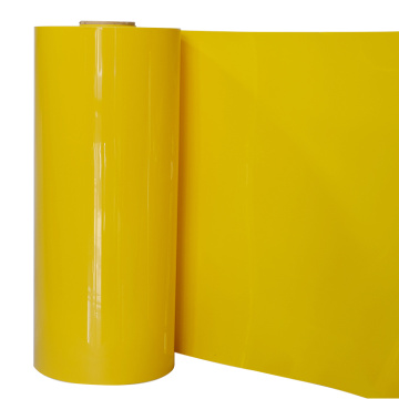 PET film rolls for plastic box folding
