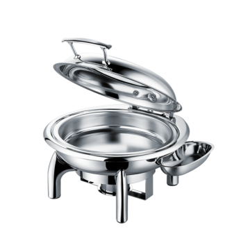 Stainless steel buffet stove with stove